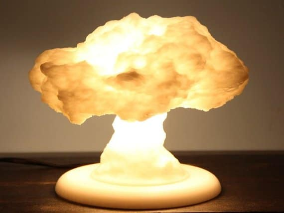 3D Printed Nuclear Explosion Lamp