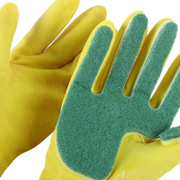 Efficient Sponge Cleaning Gloves