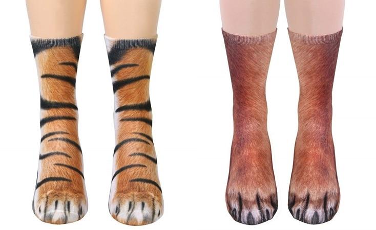 Feline Feet Socks