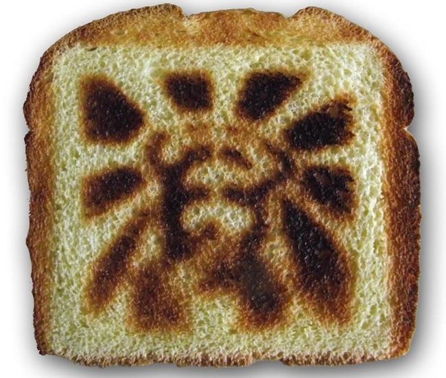 Jesus Face Toaster