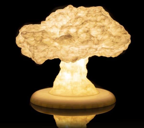 Mushroom-cloud Lamp