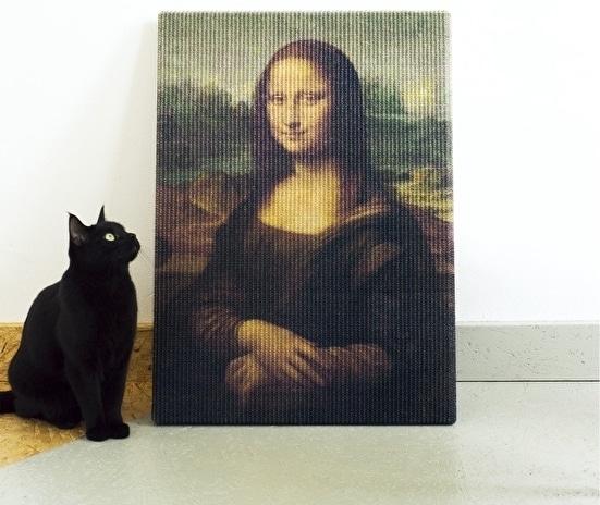 Classic Art Cat Scratcher