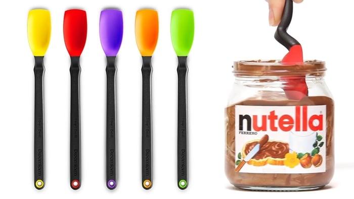 Nutella Jar Scraping Spoons