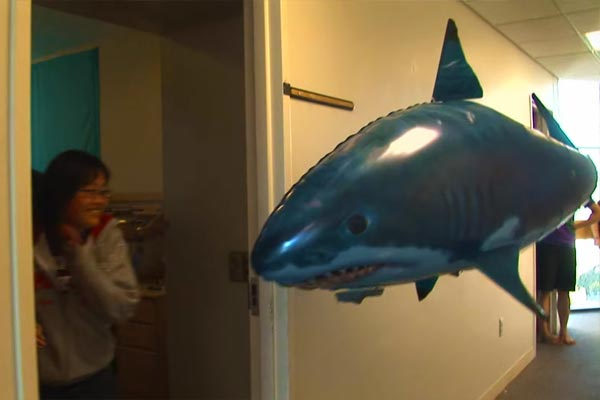 Remote Control Floating Shark Toy