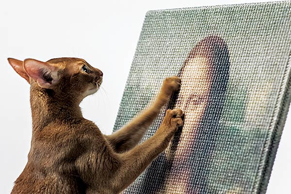 famous-artwork-cat-scratcher