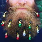 Beard Christmas Ornaments