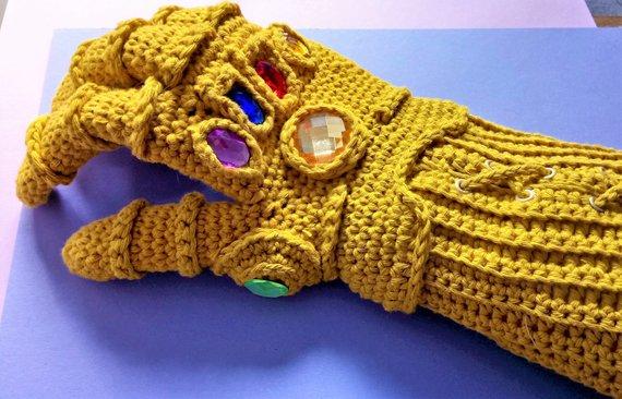 Crochet Infinity Gauntlet