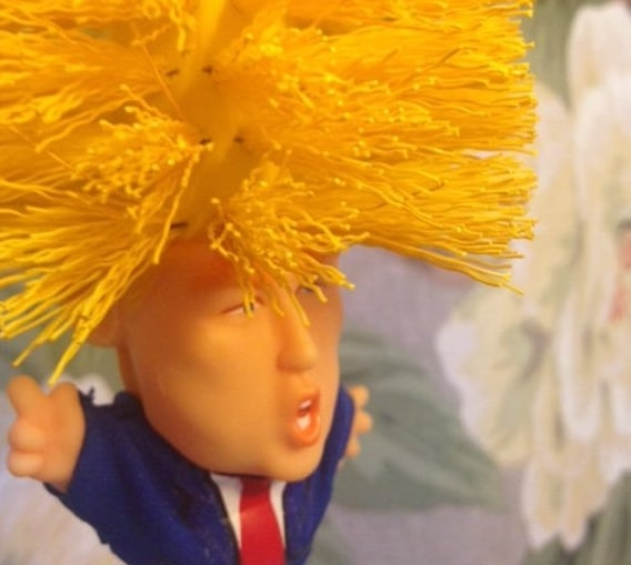 Donald Trump Toilet Brush Doll