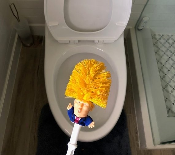 Funny Trump Toilet Brush