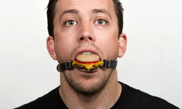 NSFW Cheeseburger Ball Gag