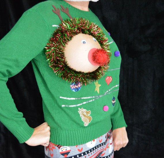 Sexy Reindeer Sweater