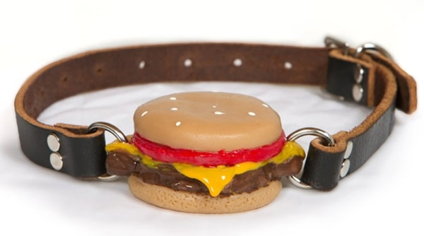 The Cheeseburger Ball Gag