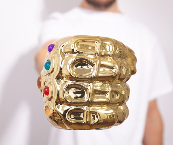 The Thanos Infinity Gauntlet Mug