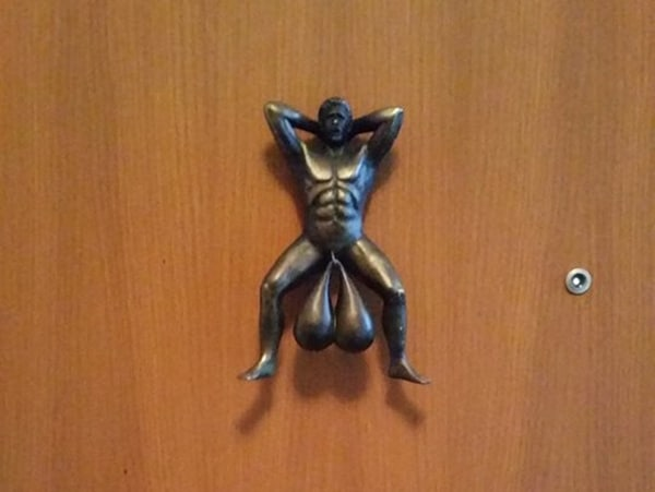 Big Balls Door Knocker