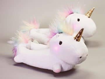 Light-Up Unicorn Slippers