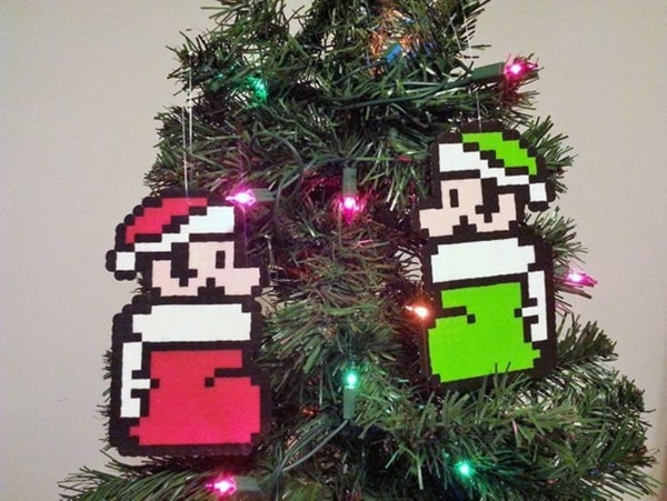 Mario Bros. Christmas Ornaments
