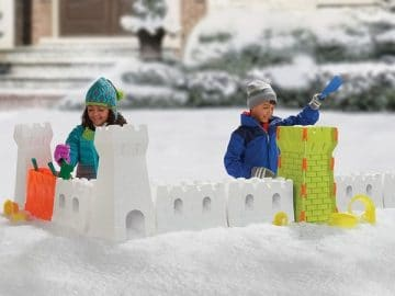 Snow Fort Building Set