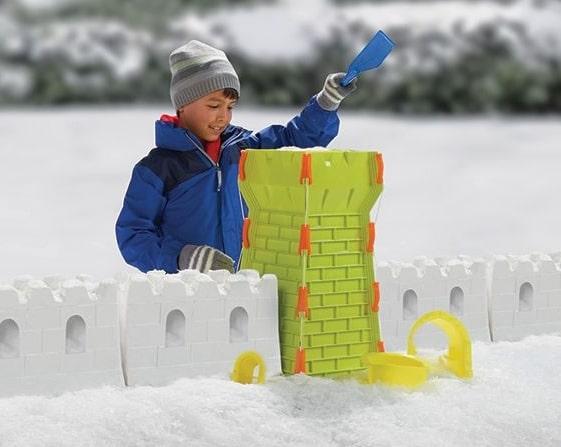 Snow Fort Building Set For Boys