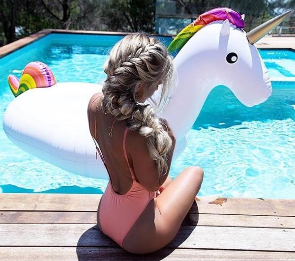 Unicorn Swimming Float
