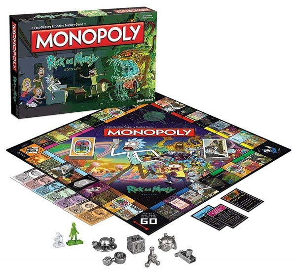 Monopoly Rick and Morty Edition
