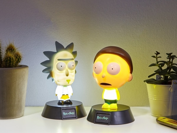 Rick and Morty Night Lights