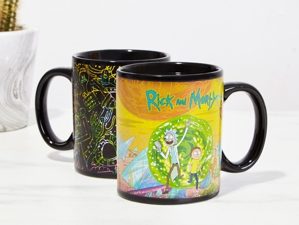 Rick and Morty Portals Mug
