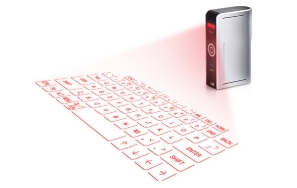 Ultra-Portable Full-Size Virtual Keyboard