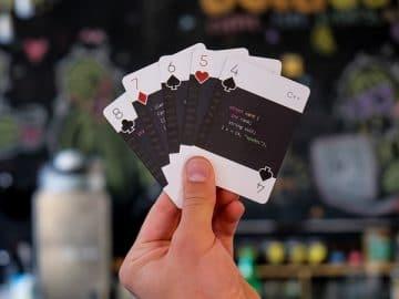 Programming Playing Cards