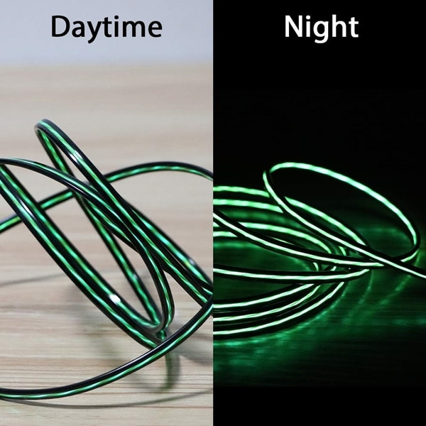 Green LED Charging Cable