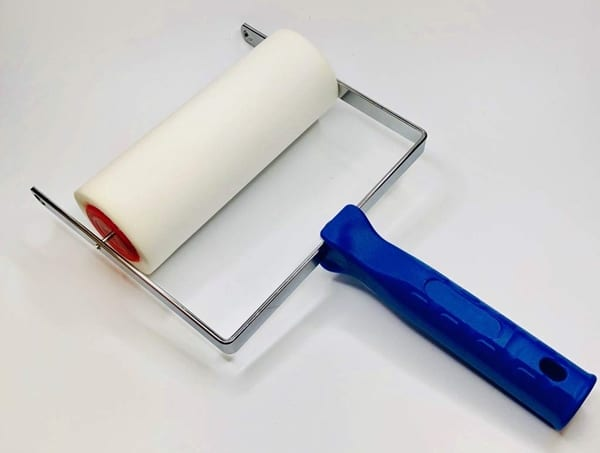 Patterned Paint Roller Applicator Handle