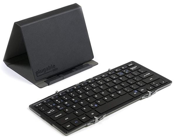 Plugable Full-Size Bluetooth Folding Keyboard