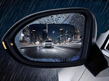 Rainproof Car Mirror Sticker