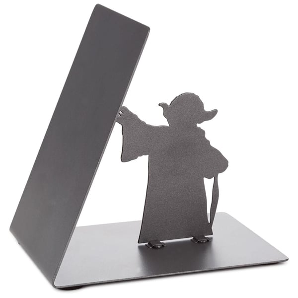 Hallmark Metal Bookend from Back