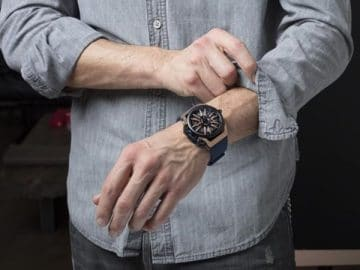 Mazzucato Rim Men's Reversible Automatic and Chronograph Watch