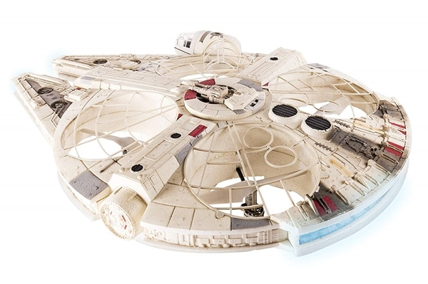 Giant Flying Millennium Falcon Drone