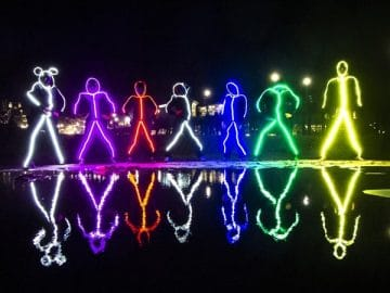 LED Stickman Costumes