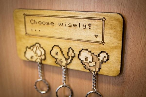 Pokemon Keyring Hanger