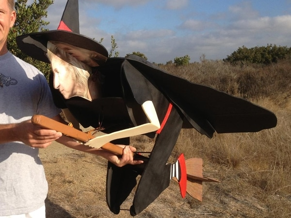 Remote Controlled Flying Witch