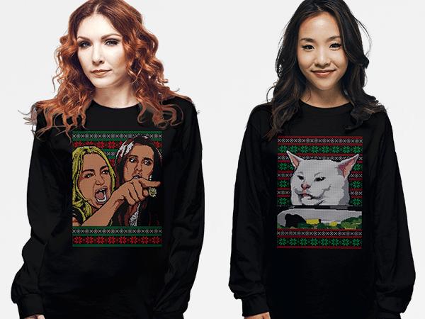 Cat Meme Sweater