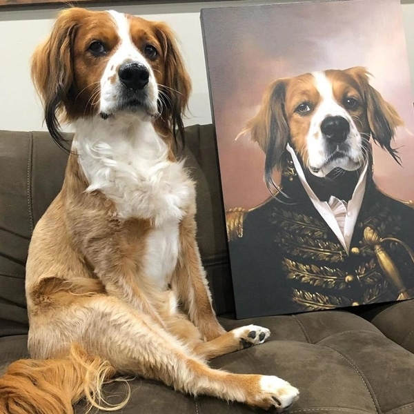 Custom Renaissance Pet Canvas