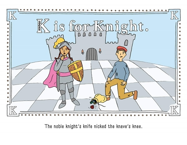 K is for Knight