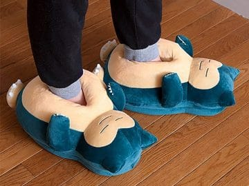 Pokemon Snorlax Slippers