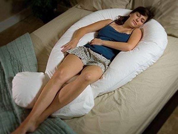 Giant U-Shaped Body Pillow
