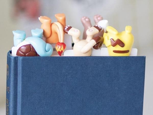 Pokemon-Inspired Butt Bookmarks