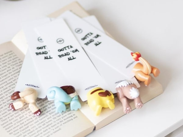 Pokemon Tail Bookmarks