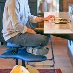 Cross Legged Office Chair