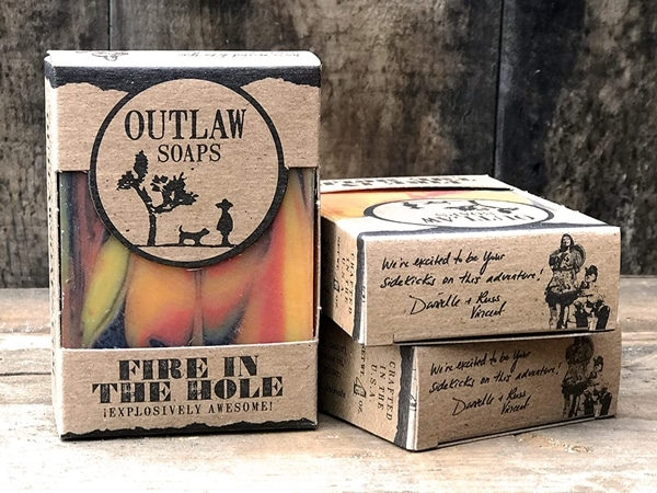 Fire in the Hole Soap