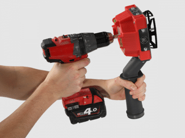Quadsaw Drill Attachment