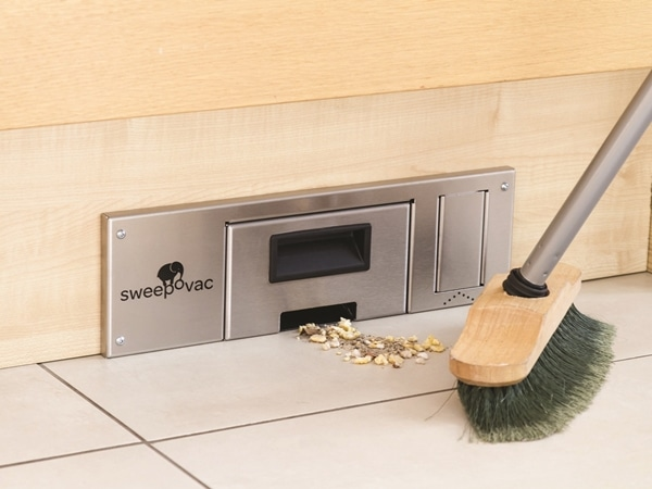 Sweepovac Built-in Kitchen Vacuum