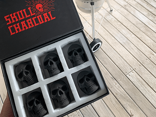 Charcoal Skulls